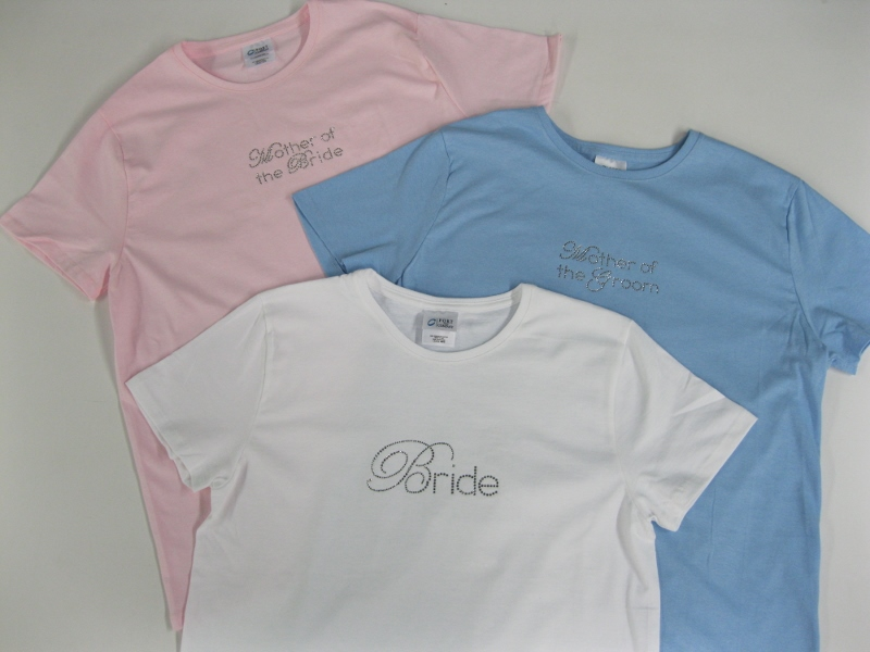 Bride, Mother of Bride, Mother of Groom T-Shirts