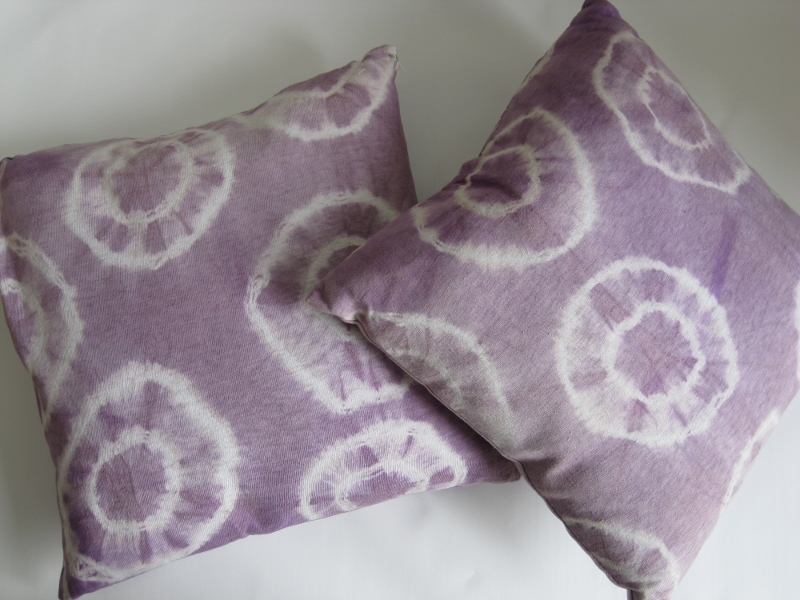 Pillow - Purple Tie Dye