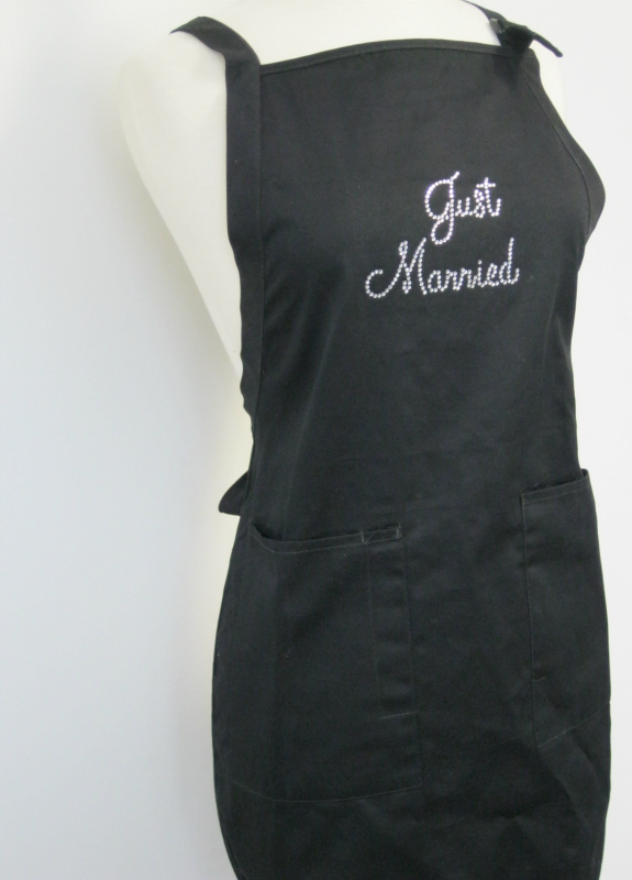 "Apron - ""Just Married"""