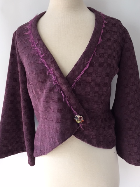 Purple Celtic Style Jacket