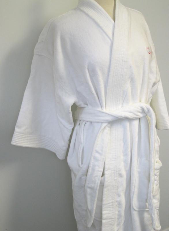 """""""Mrs"""" White Bath Robe"""