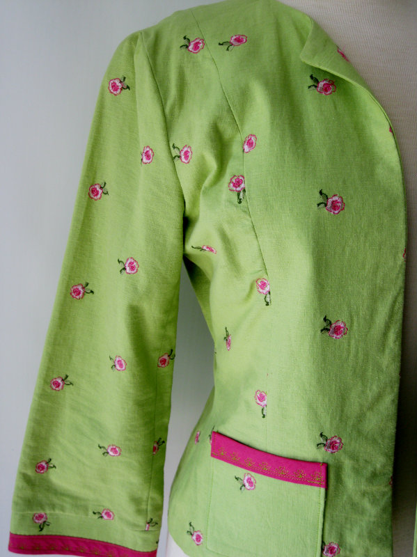 Green Springtime Jacket