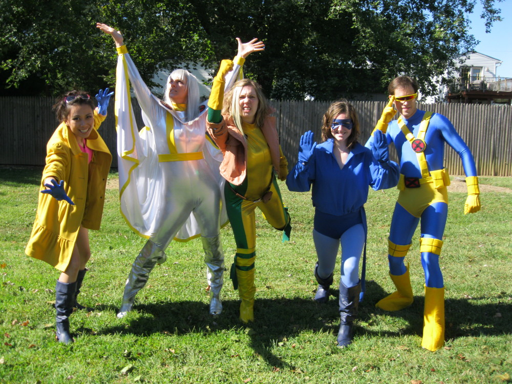 X-Men team costumes