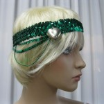 1920's Green Hairpiece