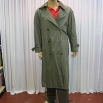 Olive Green Trenchcoat