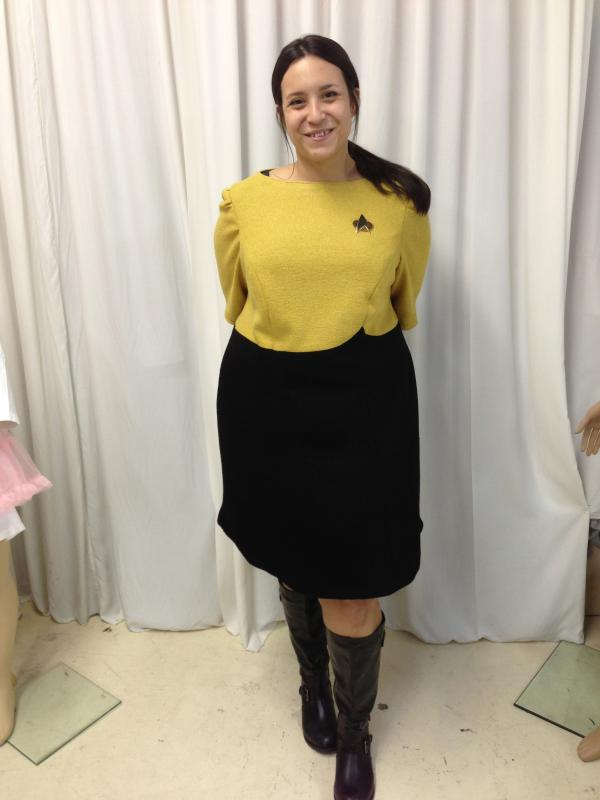 Star Trek female cadet outfit