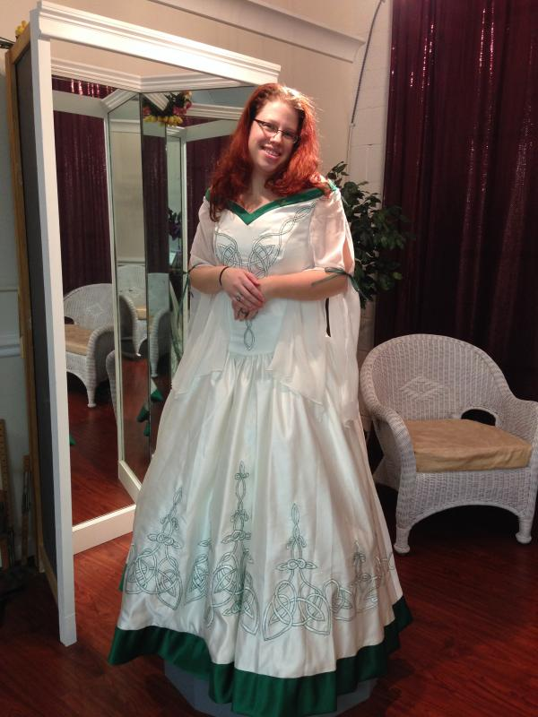 Custom Wedding Dress - View 1