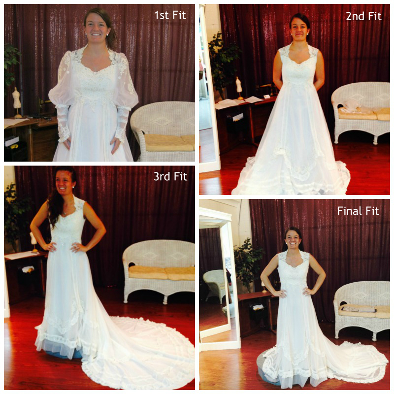FeatureFriday: A Bride Re-Designing Her Mother\'s Wedding Gown | The ...