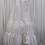 White 2-tier Petticoat