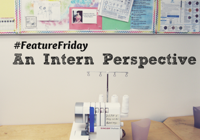 Featurefriday An Intern Perspective The Marilyn Johnson Sewing Design Studio Llc